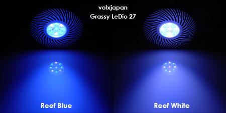 ボルクスジャパン 新LEDランプ Grassy LeDio 27