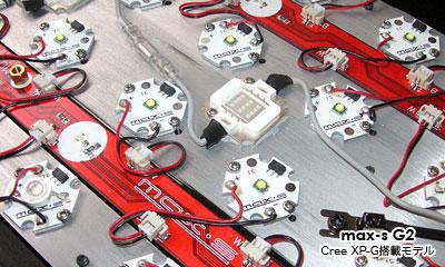max-s G2 米Cree XP-G搭載モデル エミッタ部