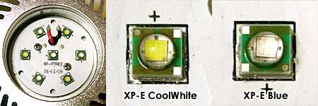 新エリジオン閃光IIが採用したCreeのXP-E