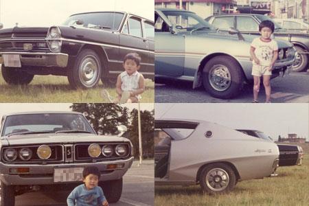 35年前の父と叔父の車