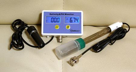 塩分濃度&pHモニタ WQM2771 本体