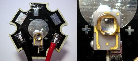 LEDのリフローテスト