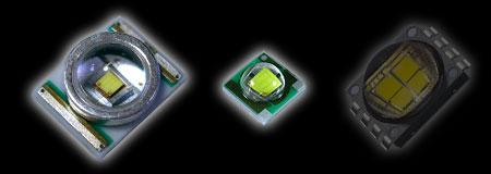 アクア照明で見られるメジャーなCree社のLED素子