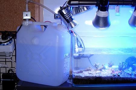 自動給水システム設置状態
