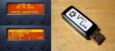 Vertex Illumina 本体コントローラーとBluetooth USBコントローラー