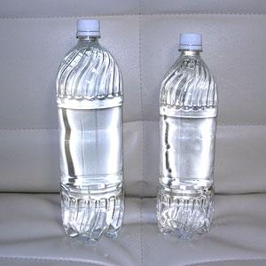 1.5Lのペットボトルが1.0Lに!?