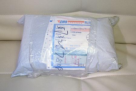 EMSで届いた海外通販