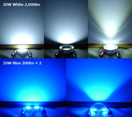 LEDモジュールの点灯テスト