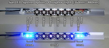 太陽光LEDシステム組込用Phosphor light