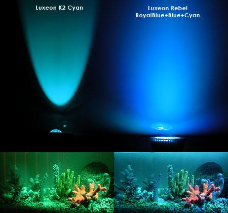 ビーム・光色比較