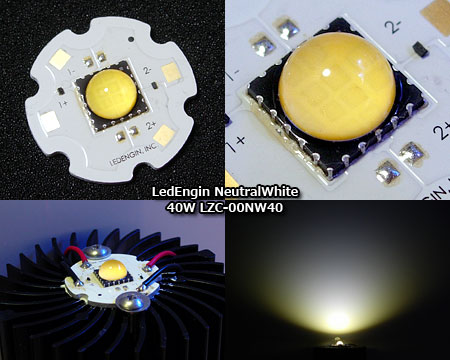 LedEngin LZC-00NW40のテスト