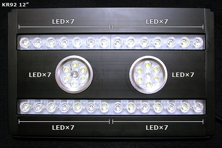 eco-lamps KR92/KR93 12inch LED配列