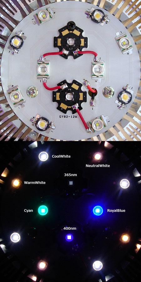 太陽光ブレンド18W 365UVモデル