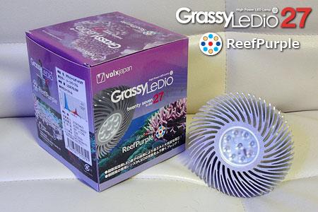 新発売のGrassy LeDio 27 ReefPurple