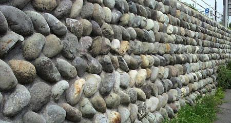 石垣・・・