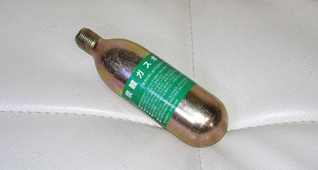 炭酸ガスボンベ74g