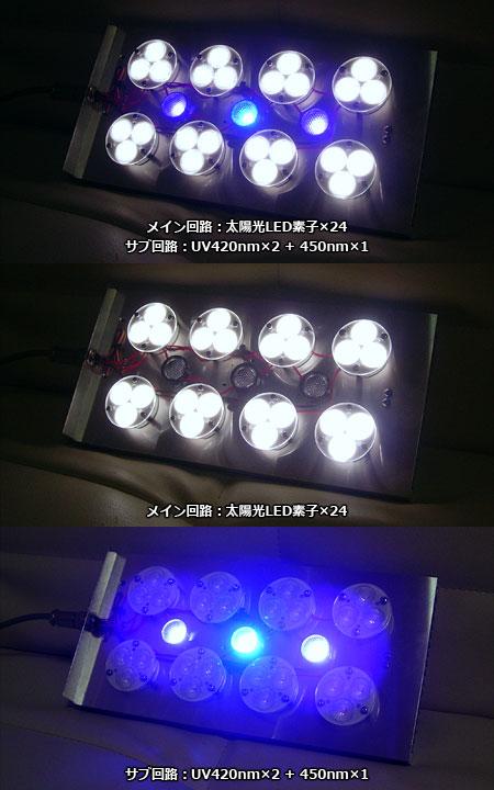太陽光LEDシステムライト ver.3 点灯モード