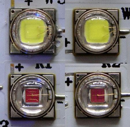 GEOlightに採用されているLED素子、多分HPL社製?
