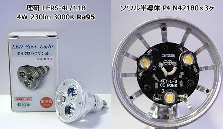 理研 高演色LEDスポット