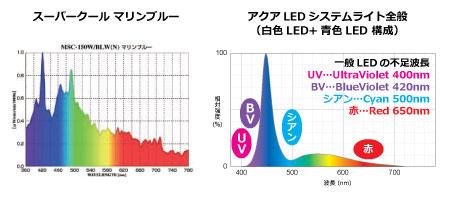 スーパークール対一般LEDライト