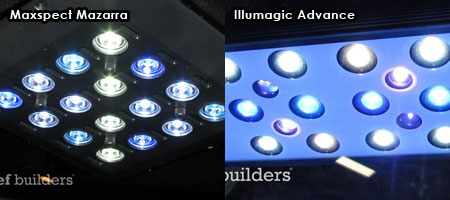 Maxspect Mazarra vs Illumagic Advanse