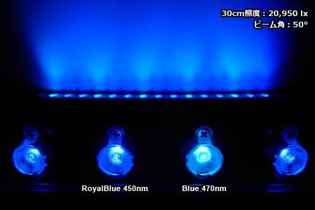 エリジオン・スリム45W DeepBlue ビーム