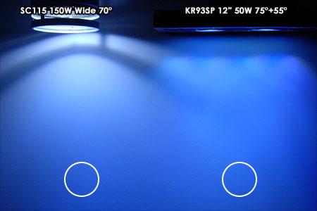 SC vs KR93SP ビーム比較
