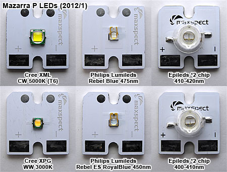 Mazarra P 付属純正LED素子