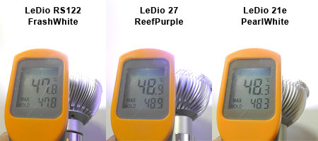 新Grassy LeDio RS122 温度測定
