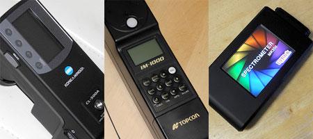 各社スペクトロメーター2012年モデル