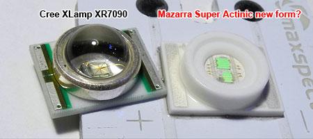 Cree XR型 デュアルチップ420nm