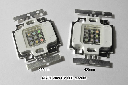 AC-RC UV 20W LEDモジュール