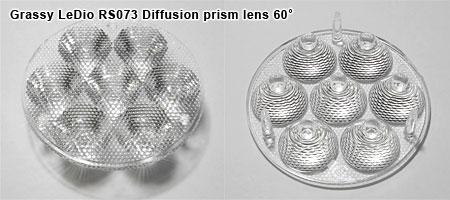 Grassy LeDio RS073 レンズ