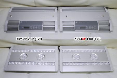 KR93SP(左)とKR93XPデモ機