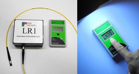 スペクトロメーターASEQ LR1とSolarmeter UVB 6.2