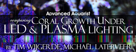 Advanced Aquarist > Coral Growth Under LED & PLASMA Lighting