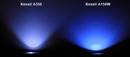 Kessil A350 / A150W ビーム