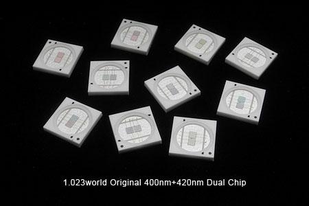 400-420nmデュアルチップLED