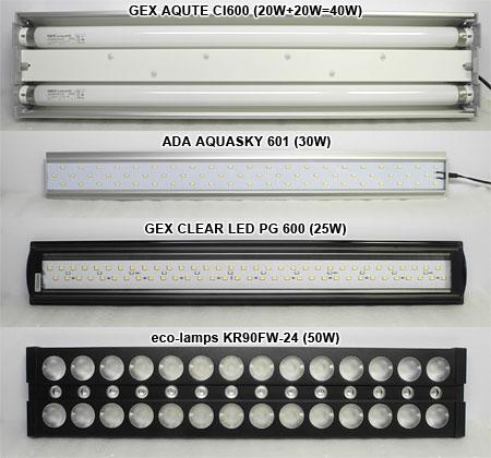 水草LEDライト徹底検証:選手入場