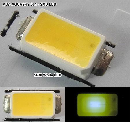 アクアスカイ601(2013/07時点)採用LED