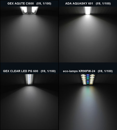 光色・ビーム比較