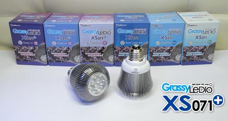 新Grassy LeDio XS071シリーズ ラインナップ