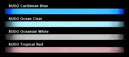 スドーのフラットスペクトル蛍光灯の発色