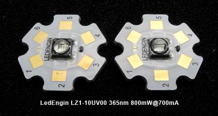 LedEngin LZ1-10UV00 UV 365nm 800mW@700mA