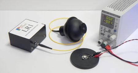 積分球+スペクトロメーター