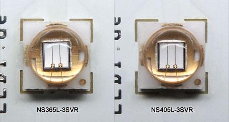 Nitride 3SVRシリーズのチップ