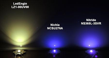Nitride NS365L-3SVRと他社とのビーム比較