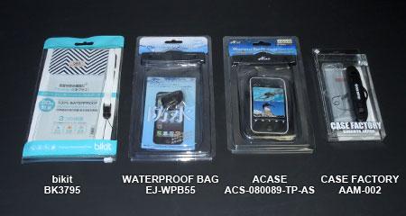 スマートホン用防水パック各種