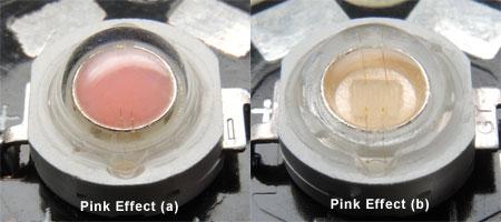 ピンク効果LED 2タイプ