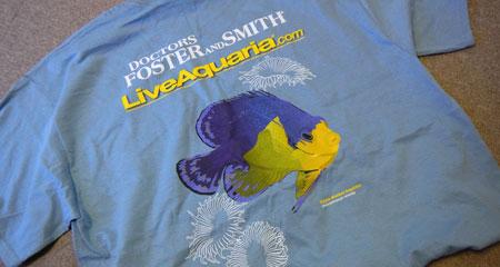 LiveAquaria.comシャツ